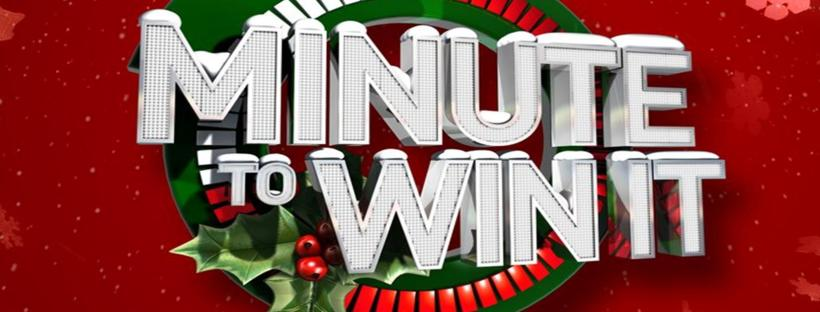 Minute To Win It Christmas.Christmas Minute To Win It Game Night Hallelujah Breakdown